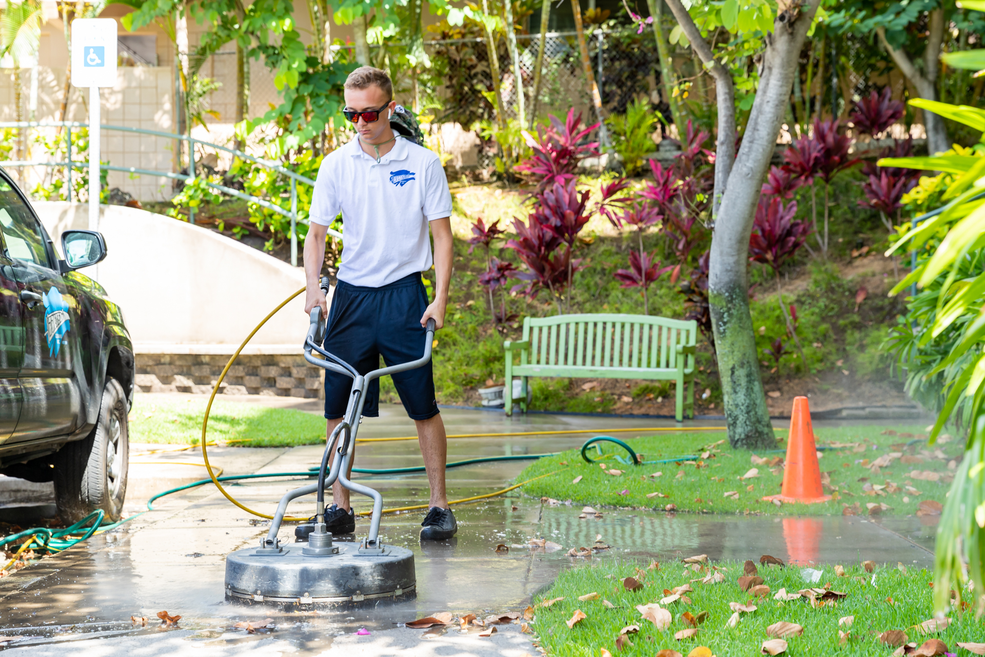 Pressure Washing Service Honolulu
